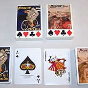 "2 Decks RCI ""Michelin Tyres"" Playing Cards, c.1988"