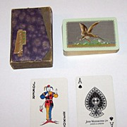 "Waddington ""Snipe -- Sporting Birds Series"" Playing Cards, William Barribal Design (Backs)"