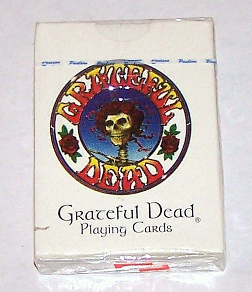 "Grateful Dead Productions ""Grateful Dead"" Playing Cards, Michael Everett Designs, c.1998"