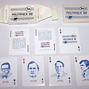 "R. Billingsley ""Politipack '88"" Playing Cards, c.1988"