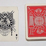 "American Playing Card Company (Kalamazoo) ""Golf"" Playing Cards (52/52, No Joker), c.1895"