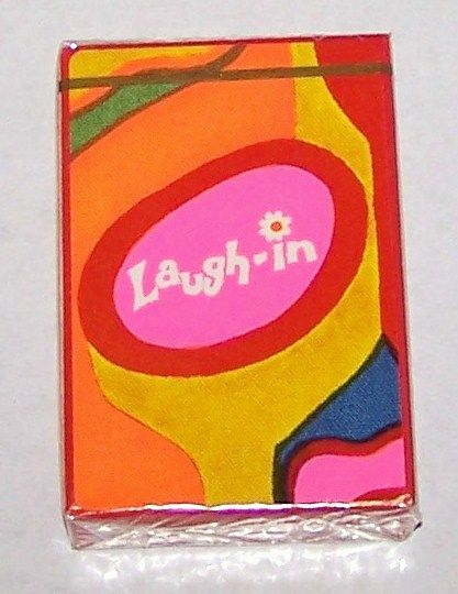 """Brown & Bigelow (Stancraft) """"Laugh-In"""" Playing Cards, c.1969"""