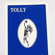 "Universal Playing Card Co. (""Alf Cooke"") ""Tolly Cobbold"" Pin-Up Playing Cards, Adv. To"