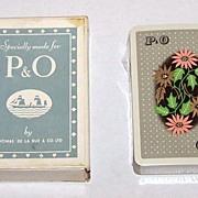 """De La Rue """"P&O"""" Maritime Playing Cards, c.1930s?"""