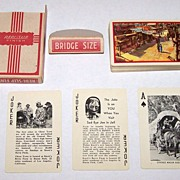 "Brown & Bigelow ""Knott's Berry Farm"" Souvenir Playing Cards, c.1950s"