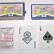 "USPC ""Baltimore & Ohio"" Railroad Playing Cards, c.1949"