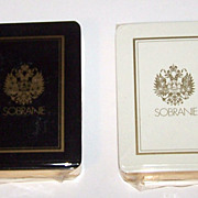 """Twin Decks """"Erte"""" Playing Cards (Cards Only) -- $75 each, $150 for pair; Sobranie of"""