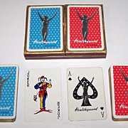 "Double Deck Waddington ""Healthguard Knitwear"" Pin-Up Playing Cards, Healthguard Knitwear A"