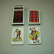 "Ets. Mesmaekers Freres ""Ecossaises"" (""Scottish"") Playing Cards, Standard Belgian Pattern, c.1960"
