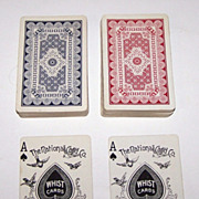 "Double Deck National ""Columbia 133"" Playing Cards (52/52 NJ), c.1900"