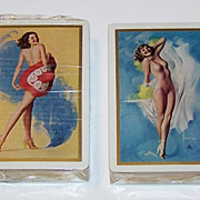 """Double Deck Brown & Bigelow """"Rolf Armstrong"""" Pin-Up Playing Cards, Rolf Armstrong Designs,"""