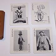 """Van Genechten """"Joyaux de Belgique"""" (""""Jewels of Belgium"""") Souvenir Playing Cards, c.1958"""