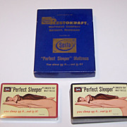 "Double Deck USPC ""Serta"" Pin-Up Playing Cards, ""Perfect Sleeper"" Mattress Advertising, c.1948"