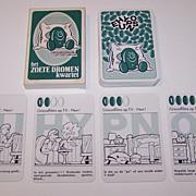 """Farmitalia Carlo Erba """"Zoete Dromen"""" (""""Sweet Dreams"""") Quartett Card Game, c.1978-1993"""