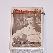 """Brown & Bigelow (Stancraft) """"Flickers"""" Playing Cards, Creative Impressions Publisher, c.19"""
