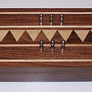 Hardwood Cribbage Box w/ Cards (Stancraft)