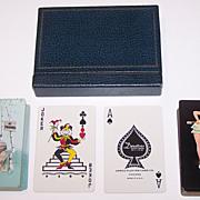 "Double Deck Arrco ""Edward D'Ancona"" Pin-Up Cards, Edward D'Ancona Designs, c.1950s"