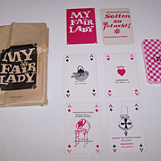 "Karl-Marx-Stadt Stadtische Theater ""My Fair Lady"" Skat Playing Cards, Maker Unknown, Performance ""Program,"" c.1967"