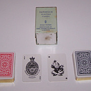 Double Deck Goodall and De La Rue Patience Playing Cards, c. 1925