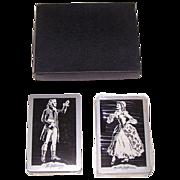 "Double Deck Brown & Bigelow ""Jeffersons"" Playing Cards, Thomas Jefferson Memorial Foundati"