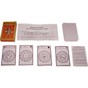 "Merrimack ""Ancient Fortune Telling Cards,"" John Lenthall Reprint (c.1717), James Moxon Ori"