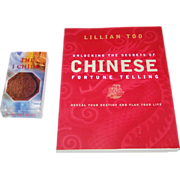 """AG Muller """"The I Ching"""" Divination Cards ($25), and Lillian Too """"Understanding the Secre"""