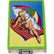"""Arrco """"Beach Blanket"""" Pin-Up Playing Cards, c.1940s"""