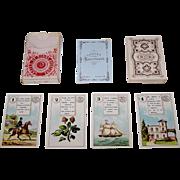 "Dondorf Lenormand No. 2 Fortune Telling Cards, ""Cartes de Bonne Aventure"" (In German, ""W"