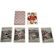 "VSSF ""Rhineland Pattern"" Playing Cards, Scenic Aces, c.1890"