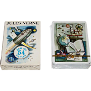 "Grimaud ""Jules Verne"" Playing Cards, Jean Bruneau Designs, c.1978"