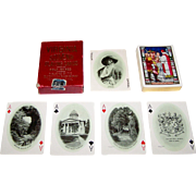 """USPC """"Virginia Souvenir Playing Cards,"""" Old Dominion Paper Company Publisher, Jamestown Ex"""