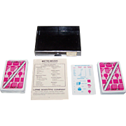 "Double Deck LaPine Scientific Company ""Metri-Magic"" Cards, Michael Shwarger Creator, Six S"