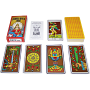 "Carta Mundi ""Oswald Wirth Tarot"" Tarot Cards, U.S. Games Systems Publisher, c.1976 (?)"