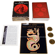 "Grimaud ""Yi-King: Tarot Oriental de Paul Iki"" I Ching Tarot Cards, Paul Iki Designs, c.197"