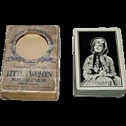 "Western ""Katherine Hepburn Little Women"" Playing Cards (52/52, NJ), Hollywood Series, c.19"