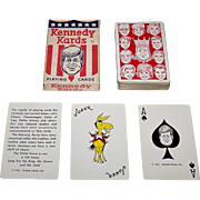 """""""Kennedy Kards"""" Playing Cards by Humor House, Inc., c.1963"""