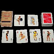 "Handa 585 ""Baby"" Miniature Pin-Up Playing Cards, c.1963"