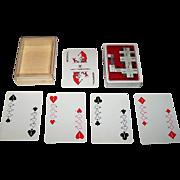 """Nintendo """"Yamatake Data Products Binary"""" Playing Cards, c.1970s"""