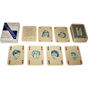"Menotti Cossu ""La Combriccola"" Playing Cards, Salvatore Coniglio Designs, Ltd. Ed. (64/450), c.1981"