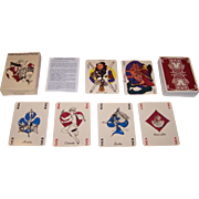 "Grimaud (France Cartes) ""Correspondances"" Playing Cards, Laurence Caiazzo and Pica-C"