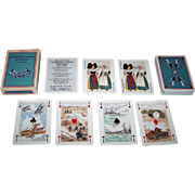 "Editions Dusserre (Boechat Freres) ""Premiere Guerre 1914-1918"" Playing Cards, c.1979"