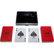 """Double Deck Gemaco """"Rolls Royce Owners Club"""" Pinochle Playing Cards"""