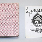 """Pyramid """"#100"""" Playing Cards, New Courts, c.1926"""