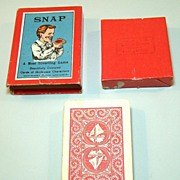 "Spears (Bavaria) ""Snap"" Card Set, English Designs, Hand Painted, ""Grotesque Characters,â"