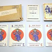 """H-Bar-O Ranch """"H-Bar-O"""" Card Game(s), Bobby Benson Radio Show, c.1930s"""