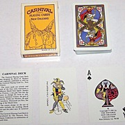 "Historic New Orleans Collection ""Carnival Deck"" (Mardi Gras) Playing Cards, Maker Unknown,"