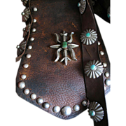 1920's Navajo Bandolier Bag