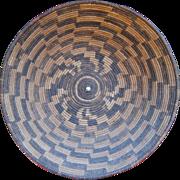 """Rare 1920's Yavapai Apache 14"""" Gathering  Basket"""