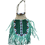Lakota Woman's Beaded Belt Bag