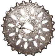 1700's Trade Silver Brooch